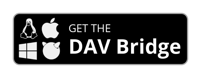 Try the DAV bridge